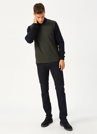 Cotton Bar Sweatshirt Haki